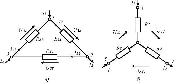 Схемное соединение резисторов
