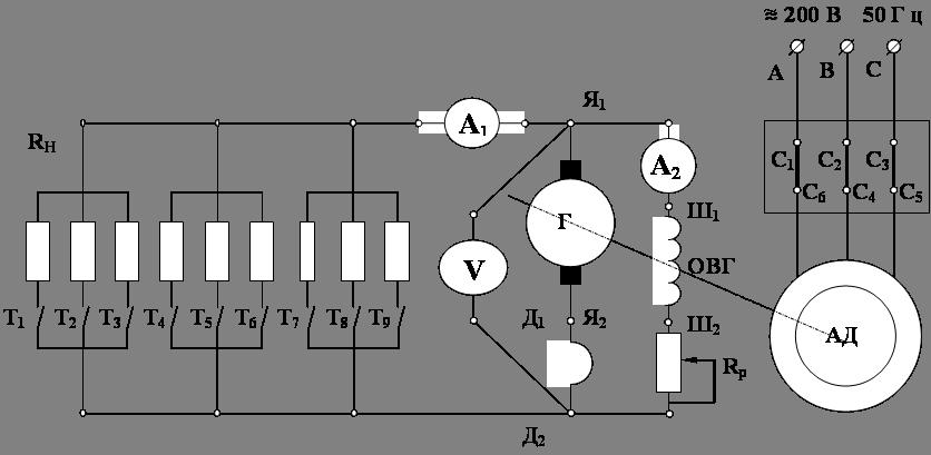 Схема подключения двигателя тип 2пн90мухл4 фото 121